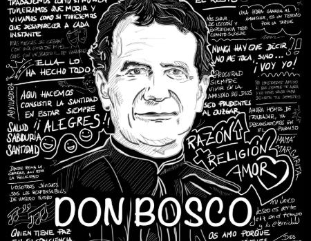 <h2> La Familia Salesiana en España celebra la fiesta de su fundador </h2> <h4>San Juan Bosco ha sido uno de los ocho patronos de la Jornada Mundial de la Juventud celebrada en Panamá </h4>
