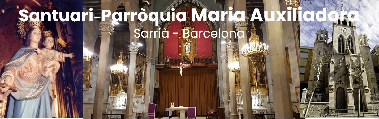 Santuari Parròquia Maria Auxiliadora – Sarrià (Barcelona)